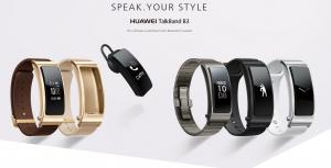 Gama de pulseras inteligentes Huawei TalkBand B3