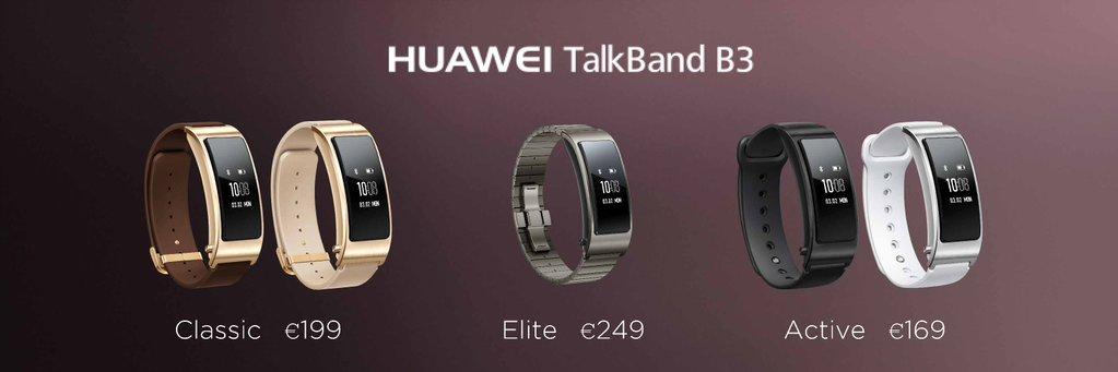 Precios Huawei TalkBand B3