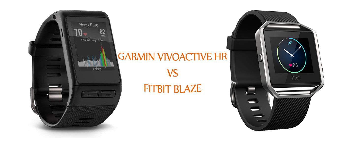 Vivoactive HR vs Fitbit Blaze