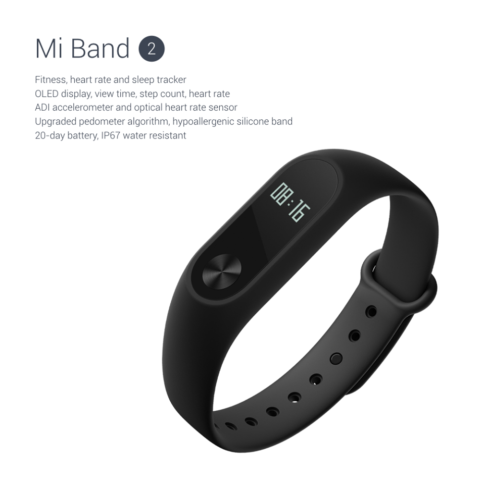 Análisis de la Xiaomi Mi Band 2 - Pulsera de fitness con pulsómetro y pantalla OLED
