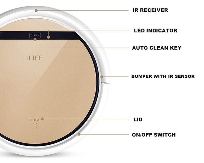 iLife V5 Pro diseño