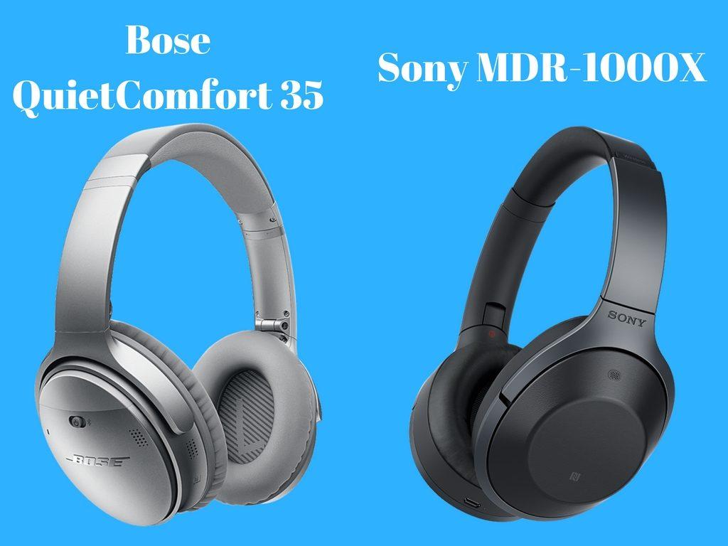 Bose QuietComfort 35 vs Sony MDR-1000X