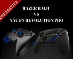 Análisis comparativo: Razer Raiju vs. Nacon Revolution Pro