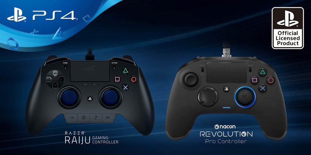 Razer Raiju y Nacon Revolution Pro, mandos para PS4