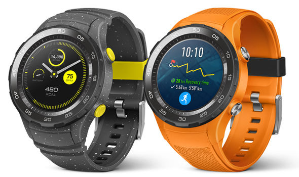 Huawei Watch 2 con Android Wear 2.0