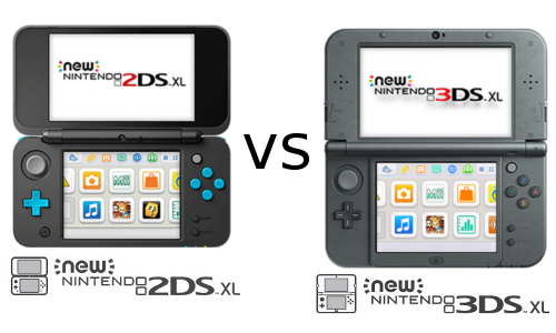 New Nintendo 2ds Xl Vs New Nintendo 3ds Xl Comparativa Diferencias