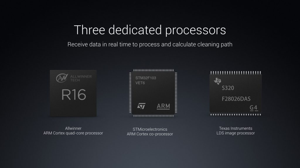 Procesadores del Xiaomi Mi Robot Vacuum