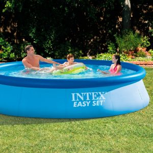 Piscinas desmontables intex hinchables redondas for Piscinas rectangulares intex
