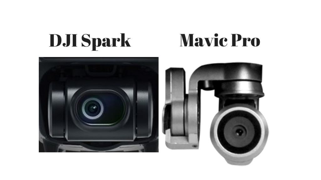 DJI Spark vs Mavic Pro - Cámaras