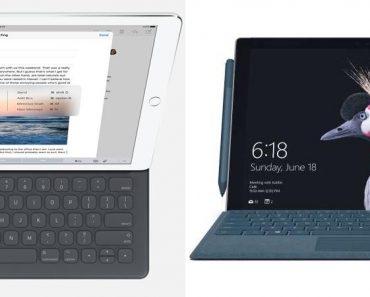 iPad Pro 12.9 vs Surface Pro 5