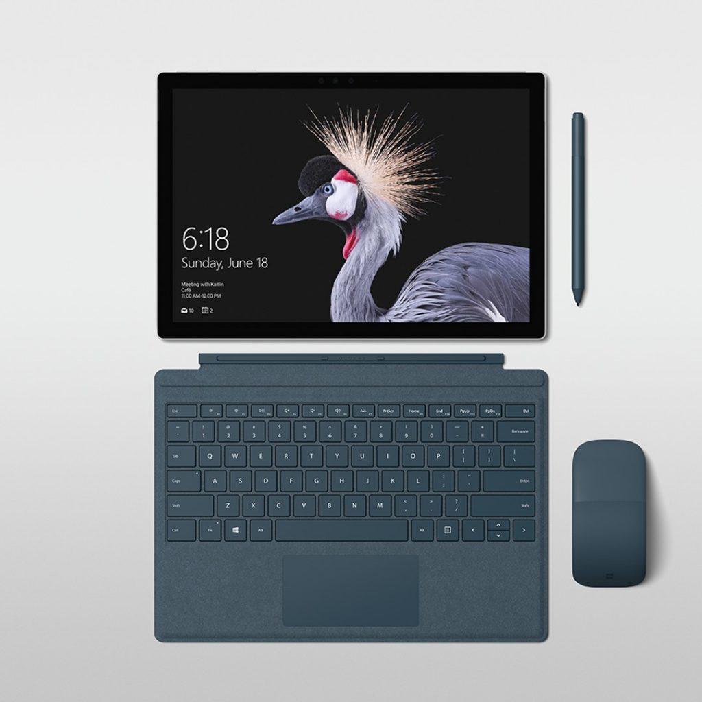 Teclado, ratón y stylus para el Surface Pro 5