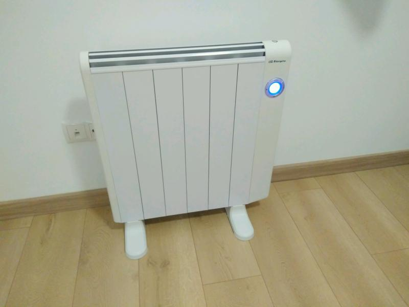Radiadores bajo consumo electricos orbegozo rre precios for Precio instalacion calefaccion radiadores