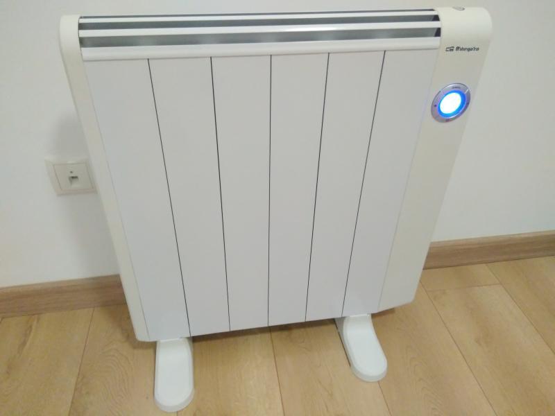 Radiadores de calor azul affordable radiadores de calor - Radiadores de aceite de bajo consumo ...