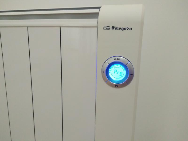 Radiadores bajo consumo electricos orbegozo rre precios - Radiadores de calor azul ...