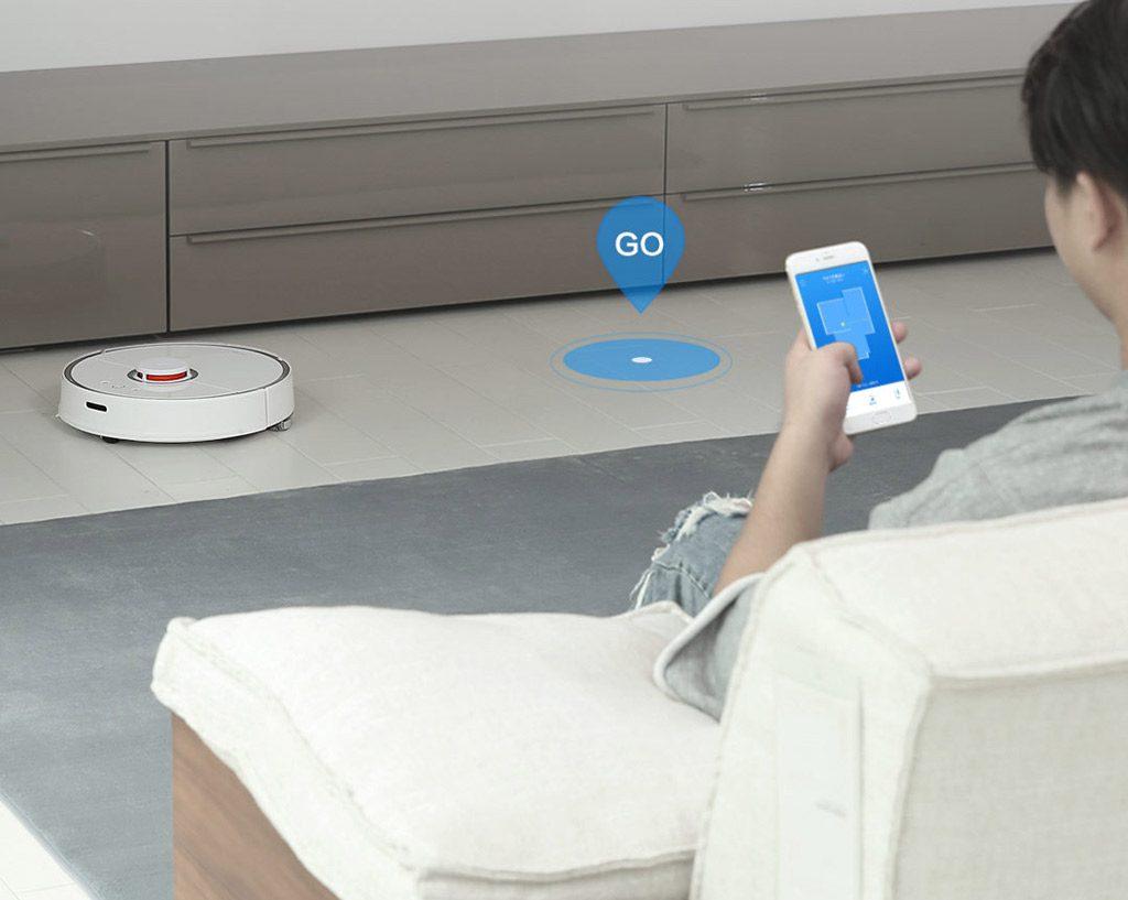 Aplicación móvil del Xiaomi Mi Robot Vacuum 2
