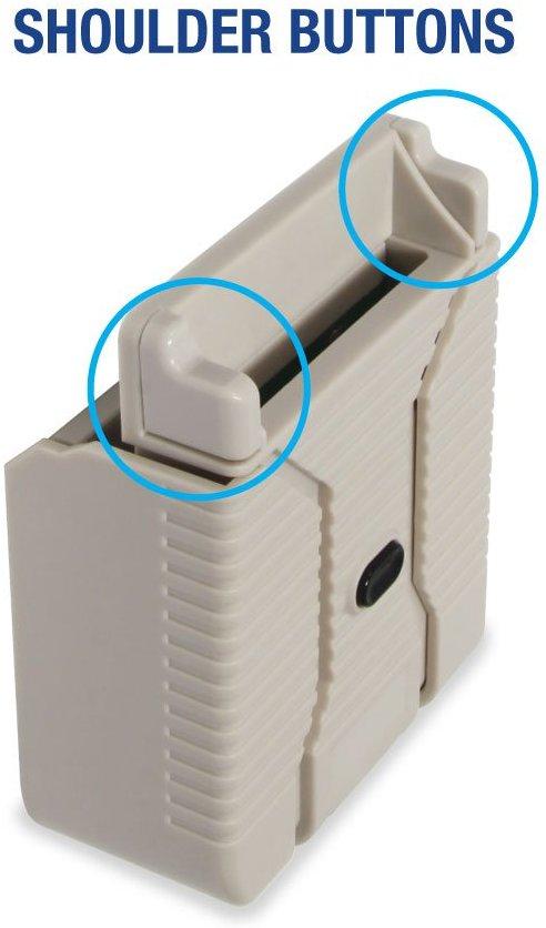 Botones L y R en el Hyperkin SmartBoy