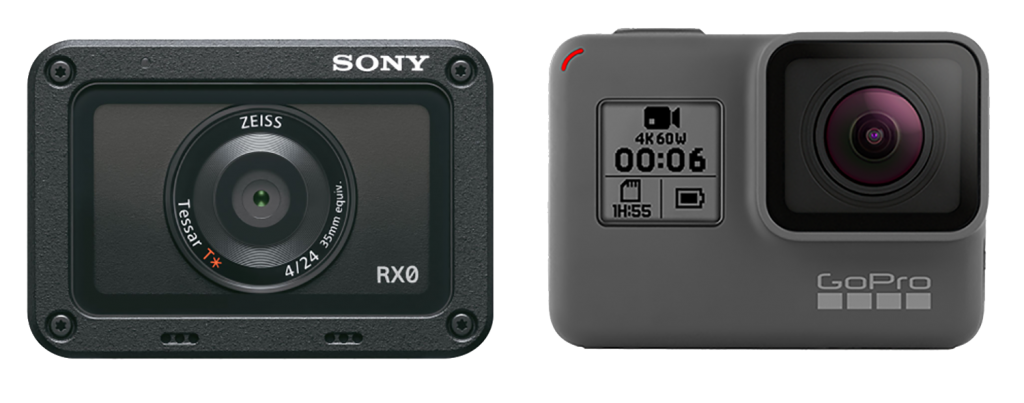 Sony RX0 vs GoPro Hero 6