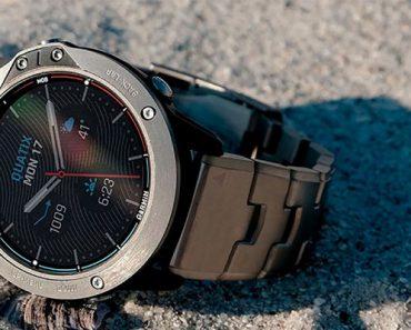 Garmin Quatix 6X, ¡el reloj inteligente que se carga con el sol!