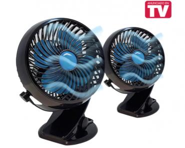 Mini ventilador Fast Fan precio barato en Amazon, modelo de La Tienda En Casa por 20 euros