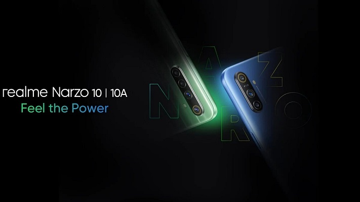 realme Narzo 10 10a