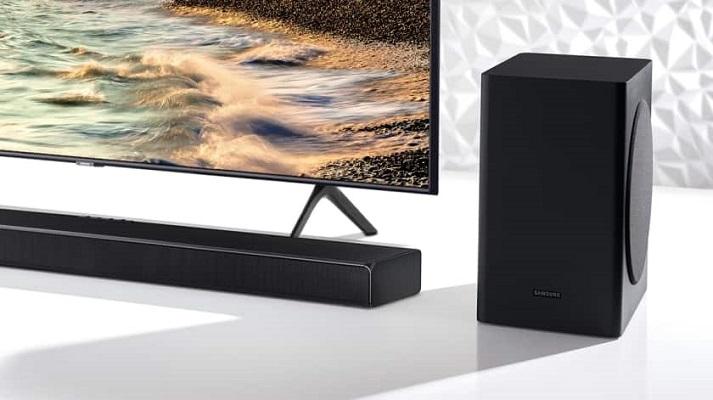 Samsung serie t barra de sonido