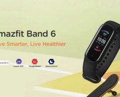 ¿La mejor en calidad precio? Nueva pulsera Huami Amazfit Band 6