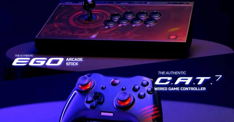 EGO Arcade FightStick gamepad C.A.T. 7