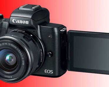¡Ideal para vloggers y YouTubers! Nueva Canon EOS M50 Mark II