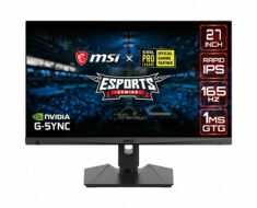 ¡Monitor gaming de 27 pulgadas! Nuevo MSI Optix MAG274QRF-QD