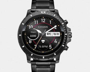 ¡Llega el primer smartwatch de Citizen! Descubre el Citizen CZ Smart