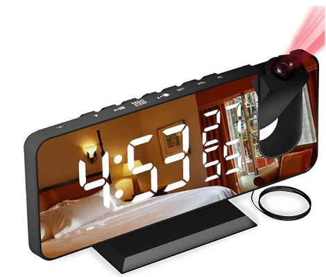 Aikove despertador proyector radio FM