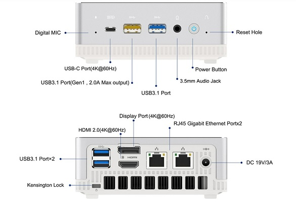 Mini PC UM250 3