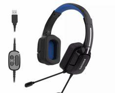 ¡Se mete en el mundo de los auriculares gaming! Philips TAGH401BL – opinión