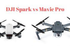 DJI Spark vs Mavic Pro