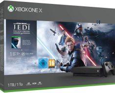 ¡¡Regalada!! Xbox One X con 44% de descuento, con juego Stars Wars Jedi por 279€, por tiempo limitado