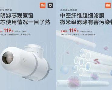 ¡Tu agua, más pura que nunca! Nuevo Xiaomi Mijia Faucet Water Purifier