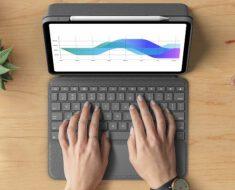 ¡Nuevo teclado con trackpad para el iPad Pro! Logitech Folio Touch