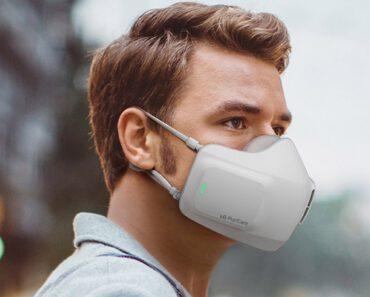 ¡Mascarilla para purificar el aire! LG PuriCare Wearable Air Purifier
