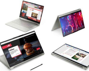 ¡Porátiles renovados! Nuevos Lenovo Yoga 9i y Yoga Slim 9i