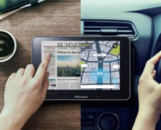¡Pioneer lanza un tablet desmontable para el coche!