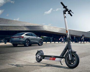Opinión del Audi electric kick scooter – ¡Así es el primer patinete de Audi!